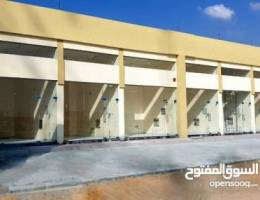 مبنى محلات للبيع على دفعات على شارع رئيسى جديده بشهاده الانجاز %%S